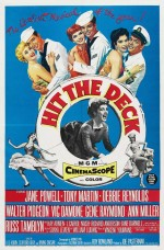 Hit The Deck (1955) afişi