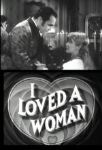 I Loved A Woman (1933) afişi