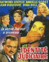 Identité Judiciaire (1951) afişi