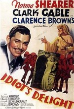Idiot's Delight (1939) afişi