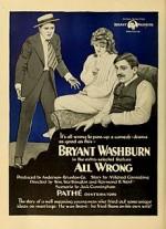 ın Wrong (1919) afişi