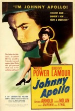 Johnny Apollo (1940) afişi