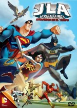 JLA Adventures: Trapped in Time (2014) afişi