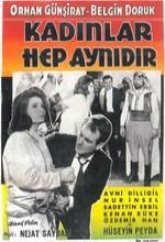 Kadınlar Hep Aynıdır (1963) afişi