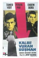Kalbe Vuran Düşman (1964) afişi