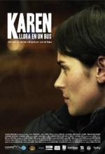 Karen Otobüste Ağlıyor (2011) afişi