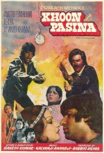 Khoon Pasina (1977) afişi