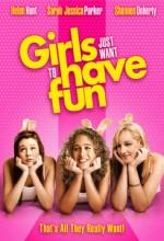 Kızlar Sadece, Eğlenmek ister (1985) afişi