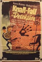 Knall Und Fall Als Detektive (1953) afişi