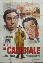 La Cambiale (1959) afişi