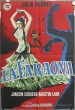 La Faraona (1956) afişi