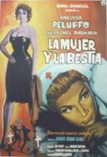 La Mujer Y La Bestia (1959) afişi