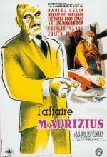 L'affaire Maurizius (1954) afişi