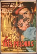 Las Tres Pelonas (1958) afişi
