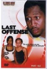 Last Offence (2006) afişi
