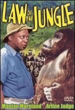 Law Of The Jungle (1942) afişi