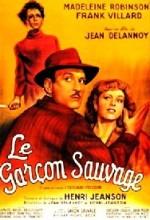 Le Garçon Sauvage (1951) afişi