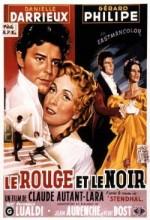Le Rouge Et Le Noir (1954) afişi