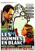 Les Hommes En Blanc (1955) afişi
