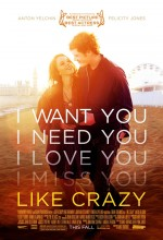 Like Crazy (2011) afişi