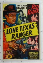 Lone Texas Ranger (1945) afişi