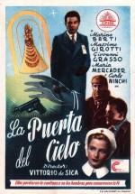 La porta del cielo (1945) afişi