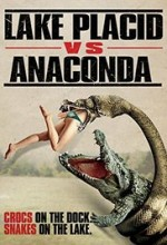 Lake Placid Vs. Anaconda (2015) afişi