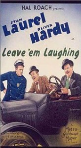 Leave 'em Laughing (1928) afişi