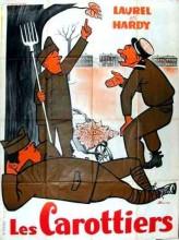 Les Carottiers (1931) afişi