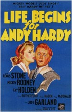 Life Begins For Andy Hardy (1941) afişi