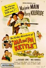 Ma And Pa Kettle At Home (1954) afişi