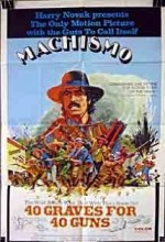 Machismo: 40 Graves For 40 Guns (1971) afişi