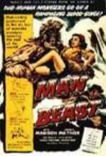 Man Beast (1956) afişi