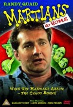 Martians Go Home (1990) afişi
