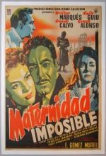 Maternidad Imposible (1955) afişi