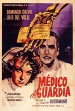 Médico De Guardia (1950) afişi