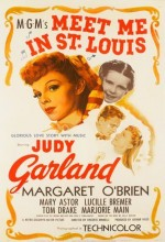 Meet Me In St. Louis (1944) afişi