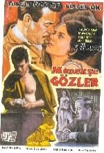 Menekşe Gözler (1963) afişi