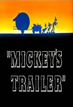 Mickey's Trailer (1938) afişi