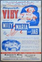 Milly, Maria Och Jag (1938) afişi
