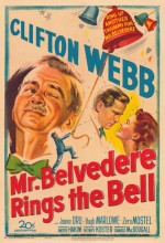 Mr. Belvedere Rings The Bell (1951) afişi