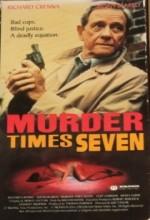 Murder Times Seven (1990) afişi