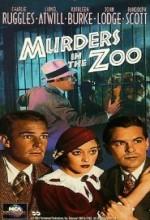 Murders In The Zoo (1933) afişi