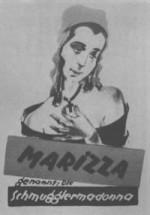 Marizza, genannt die Schmuggler-Madonna (1922) afişi