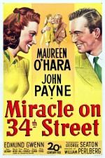 Miracle On 34th Street (1947) afişi