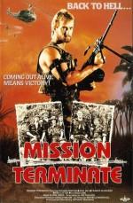 Mission Terminate (1987) afişi