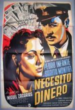 Necesito Dinero (1952) afişi