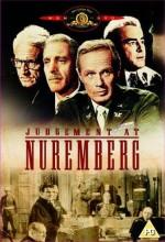 Nuremberg Mahkemesi (1961) afişi