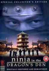Ninja in the Dragons Den  afişi