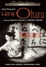 Oharu'nun Hayatı (1952) afişi